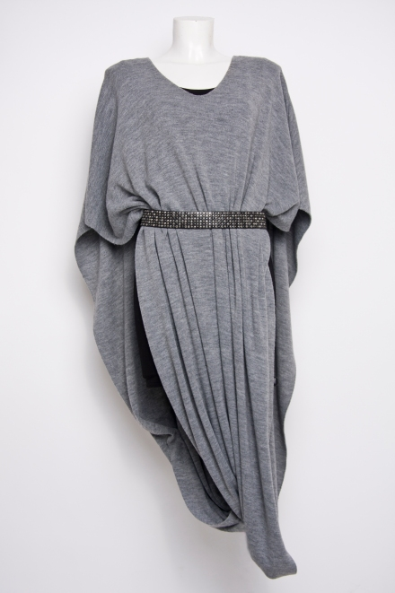 Lana Wrap Grey - L FOR LAZARUS A/W 12