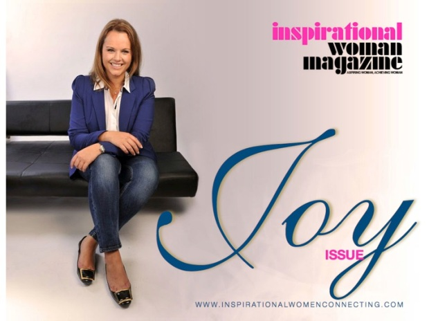 Inspirational Woman Magazine - Joy Edition - Cover